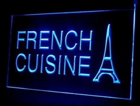 French Cuisine LED Neon Sign